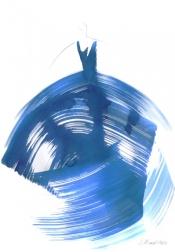 Bettina Mauel: The Blue Dress