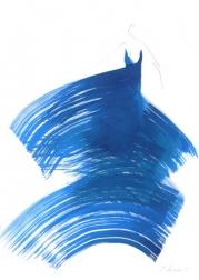 Bettina Mauel: The Blue Dress 5