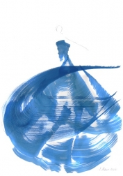 Bettina Mauel: The Blue Dress 7