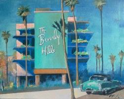Kathleen Keifer: Pink and Green Beverly Hills Hotel