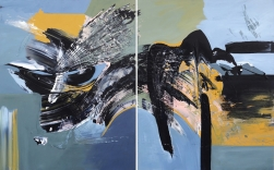 Gail Titus: Imagination (Diptych)