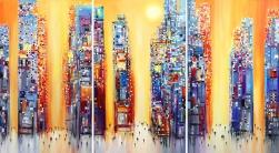 Ekaterina Ermilkina: Sunset (Triptych)