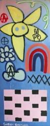 Sarah Svetlana: Mama Said, Rebel! - Artists for Charity Artwork