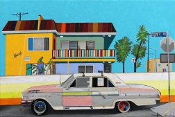 Fabio Coruzzi: Rusty Cool Car in Venice Beach