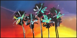 Pete Kasprzak: Venice California Multi Palms