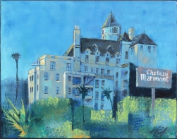 Kathleen Keifer: The Blue Hour at Chateau Marmont