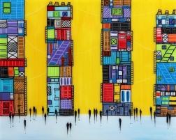 Ekaterina Ermilkina: City 9