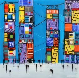 Ekaterina Ermilkina: City 7