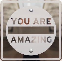 Scott Froschauer: You Are Amazing (Mirror Inverse)