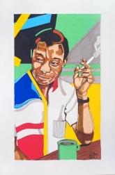 Domonique Brown: James Baldwin