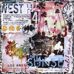 Marion Duschletta: West on Sunset