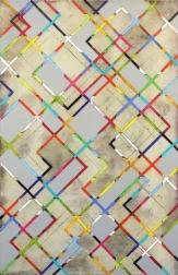 Petra Rös-Nickel: Diagonal Stripes 21-1