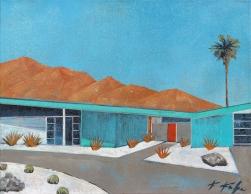 Kathleen Keifer: Mid Century Palm Springs Sunset