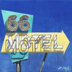 Kathleen Keifer: Route 66 Motel