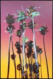 Pete Kasprzak: Santa Barbara Grouped Palms