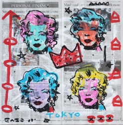Gary John: Pop Color Marilyn