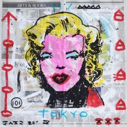 Gary John: Pink Tokyo Marilyn