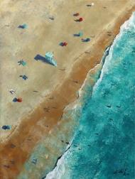 Kathleen Keifer: Beach From Above