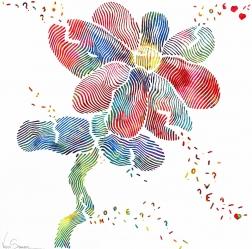 Virginie Schroeder: Flower Balloon Love Explosion