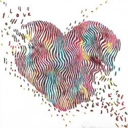 Virginie Schroeder: Heart Love Glow In The Dark Day