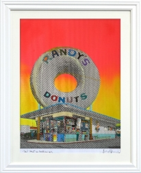 Fabio Coruzzi: Giant Donut in Inglewood (Munchies)