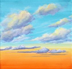 Nichole McDaniel: Tangerine Ether 2