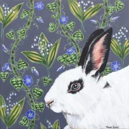 Naomi Jones: White And Black Rabbit