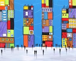Ekaterina Ermilkina: City XX