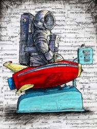 Robert Lebsack: My Spaceship Knows The Way