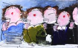 Gerdine Duijsens: Happy In Blue