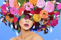 Sally K: Rose Leaves