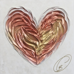 Cynthia Coulombe-Bégin: Rose And Gold No.2