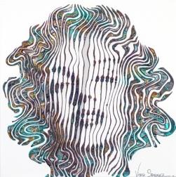Virginie Schroeder: Marilyn Dream In Blue