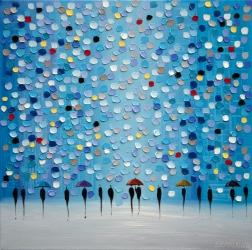 Ekaterina Ermilkina: Colorful City Umbrellas