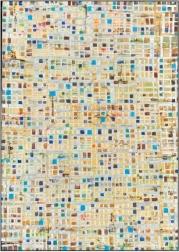 Petra Rös-Nickel: Maps Beige-Blue