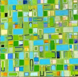 Petra Rös-Nickel: Pattern Green 21-9
