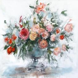 Kellie Newsome: Peach Blooms