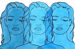 Hilary Bond: Untitled (Blues VII)