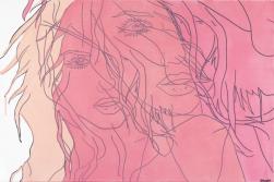 Hilary Bond: Untitled (Pink VI)