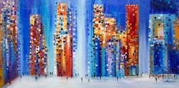 Ekaterina Ermilkina: Vibrant City View
