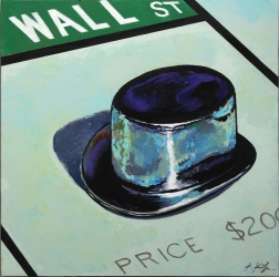 Kathleen Keifer: Wall Street Top Hat