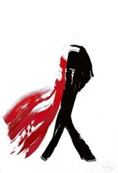 Bettina Mauel: Dancers 24