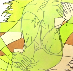 Hilary Bond: Green, Tan, Gold