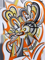 Frankie Alfonso: Orange Swirl